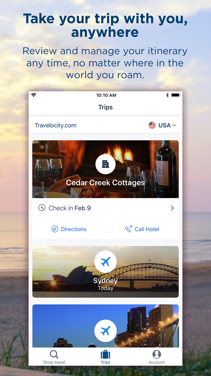 Travelocity Hotels & Flights Screenshot