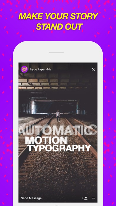 Baixar Hype-Type: Moving Text Photo-s para Android