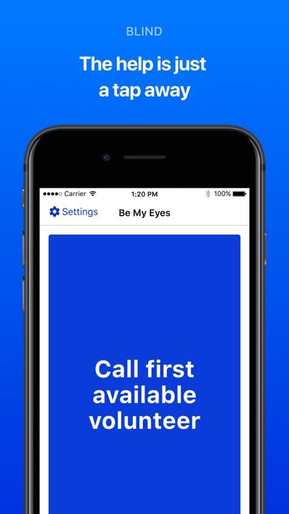 Be My Eyes – Helping the blind screenshot-3