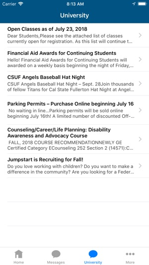 Cal State Fullerton Irvine Campus Map.Ifullerton On The App Store