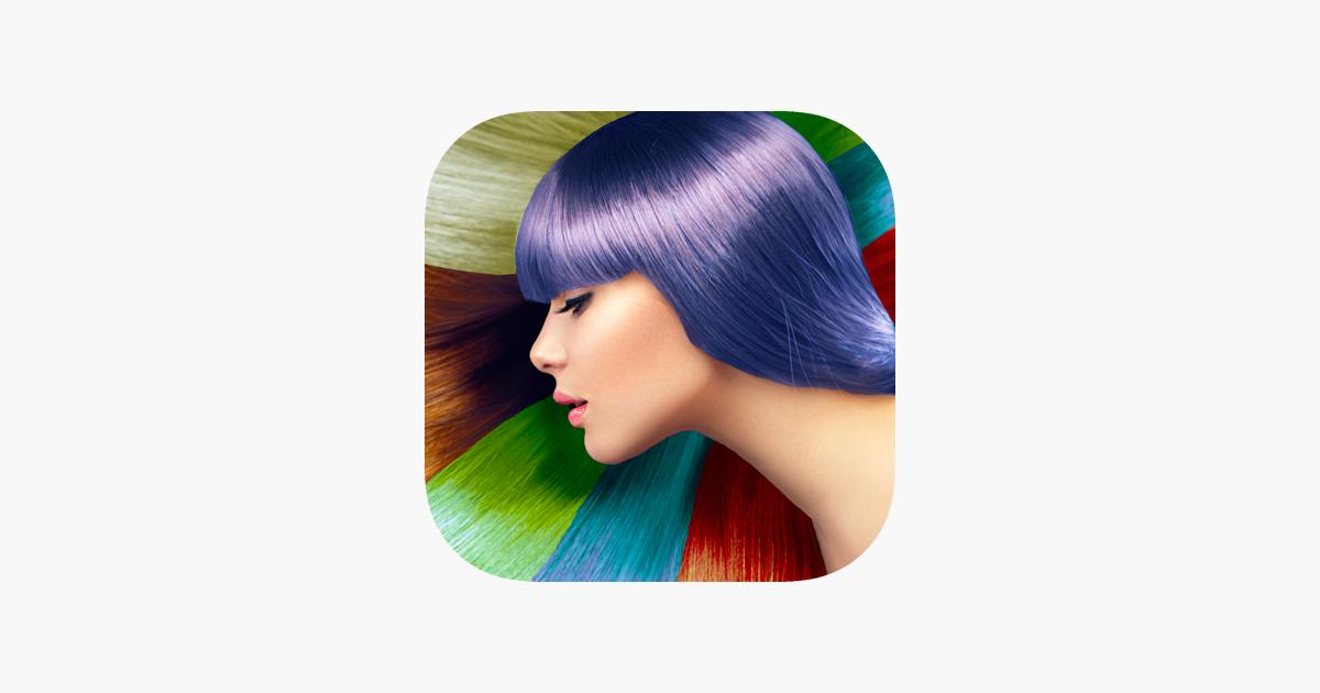 ändra hårfärg app gratis