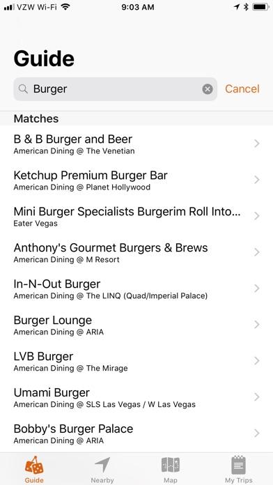 VegasMate Travel Guide screenshot three