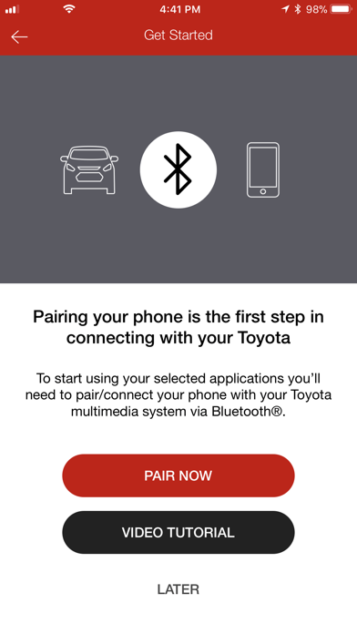 Entune™ 3 0 App Suite Connect by Toyota Motor Sales, U S A , Inc