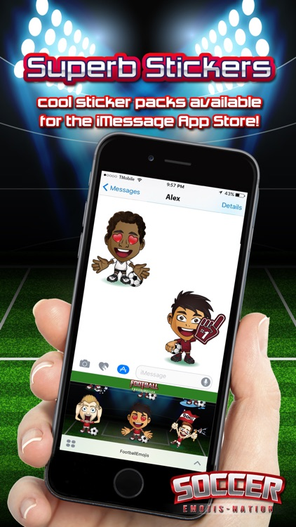 Soccer Emojis Nation screenshot-3