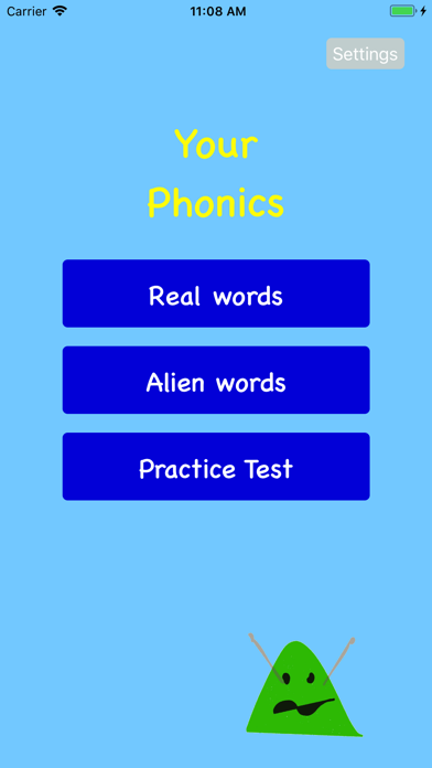 Your Phonics screenshot two