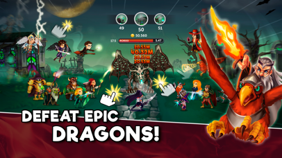Tap Dragons - Clicker Heroes RPG Game by Genera Games (iOS