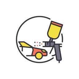 Car Paint Services Stickers