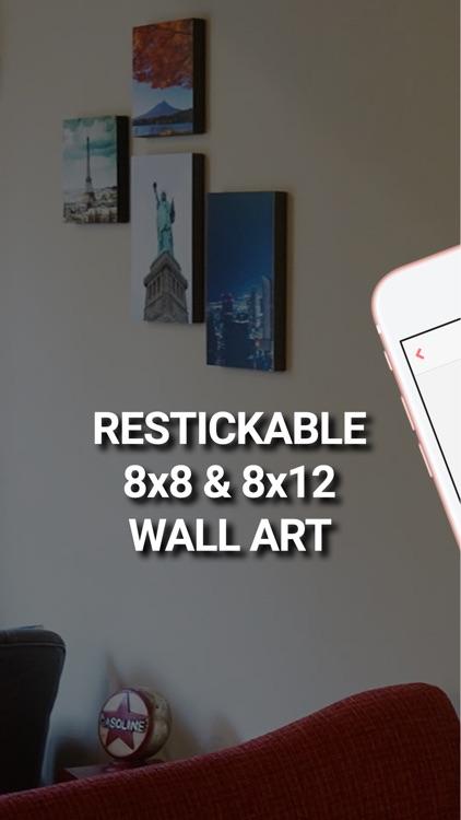 Printage: Stickable Canvas Art