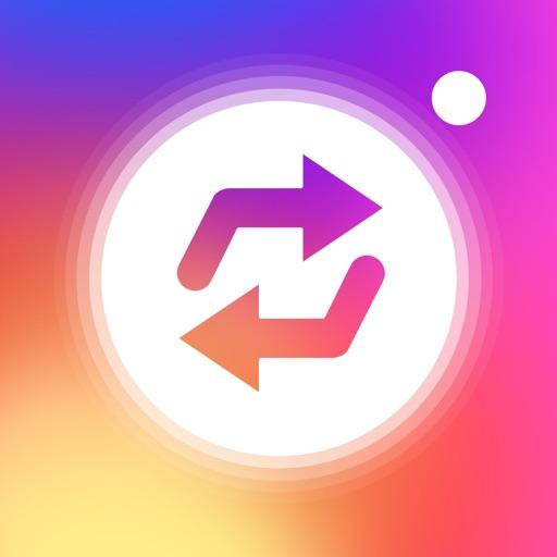 リポスト for インスタグラムとツイッター! iOS App