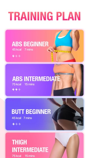 ‎Fitness App: Workout for Women on the App Store