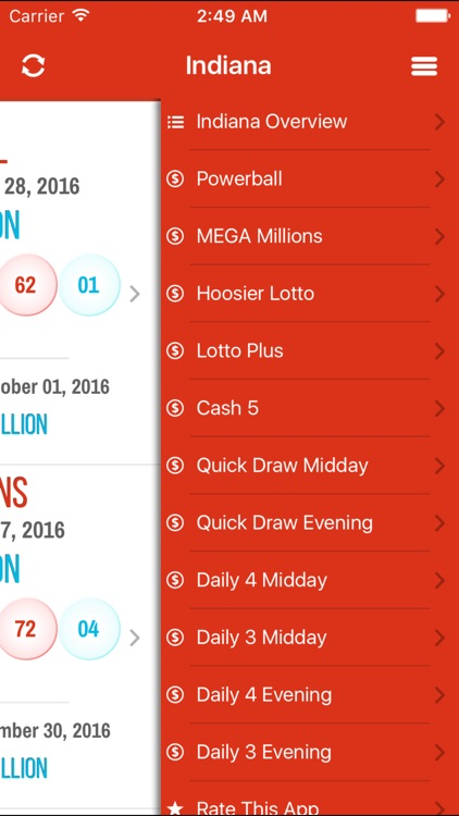 lottery results indiana ipad iphone