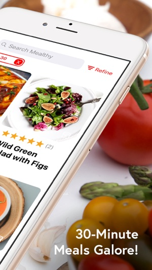 Mealthy easy healthy recipes en app store forumfinder Choice Image