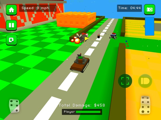 Blocky Demolition Derby для iPad