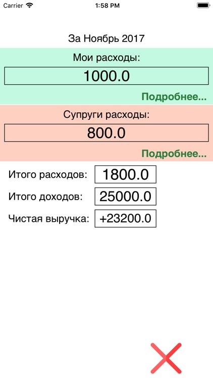 Моя бухгалтерия screenshot-4