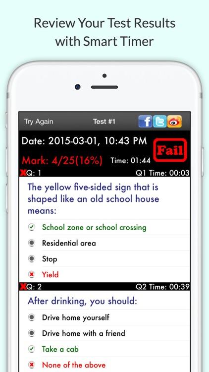 Florida DMV Practice Test Pro screenshot-4