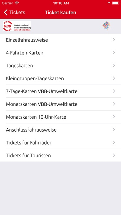 VBB Bus & Bahn for Windows