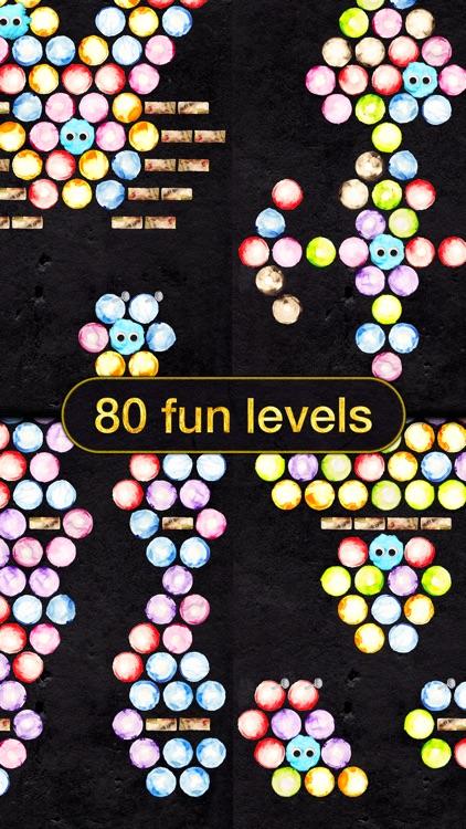 Fuzzytopia - Bubble Shooter Puzzle screenshot-3