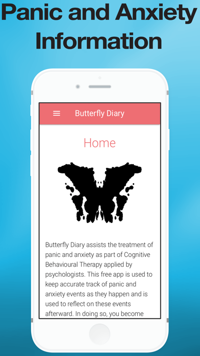 Butterfly Diary screenshot one