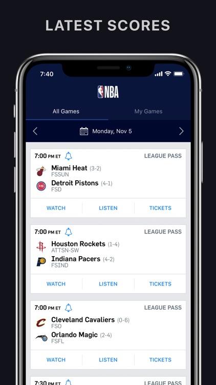 NBA: Official App screenshot-4