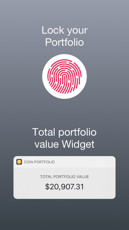 Coin Portfolio - Tracking screenshot-3