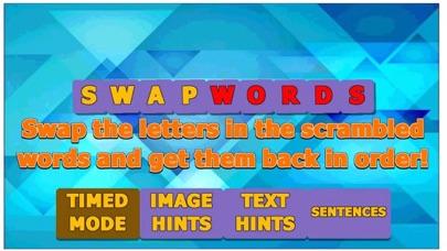 SwapWords-Combine correct word screenshot #1