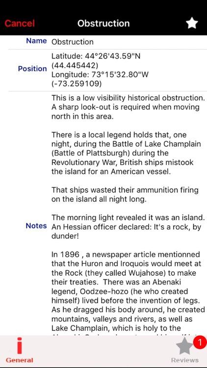Lake Champlain Nautical Charts screenshot-3