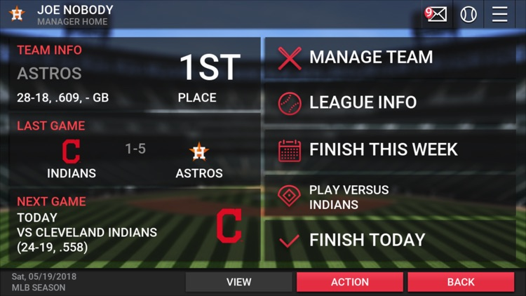 MLB Manager 2018 screenshot-2