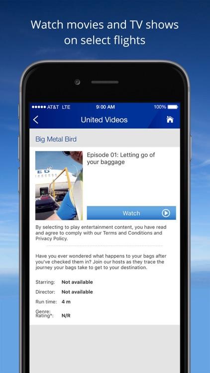 United Airlines screenshot-3