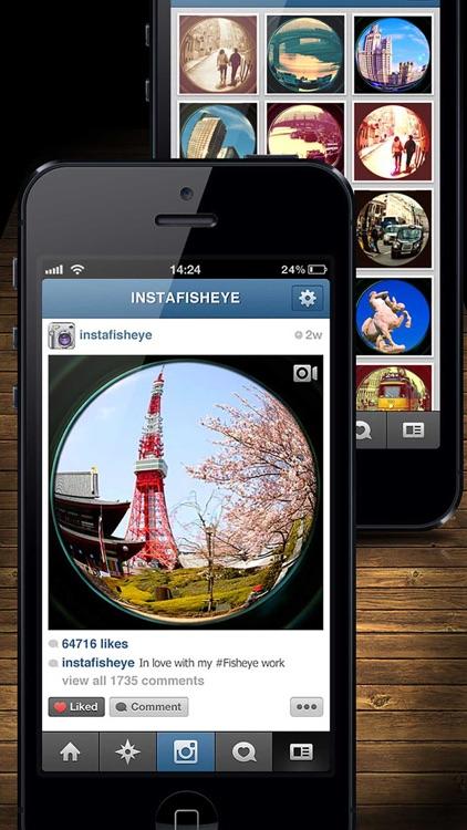 InFisheye Lite for Instagram screenshot-4
