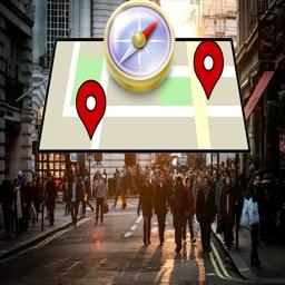 3D Compass Map