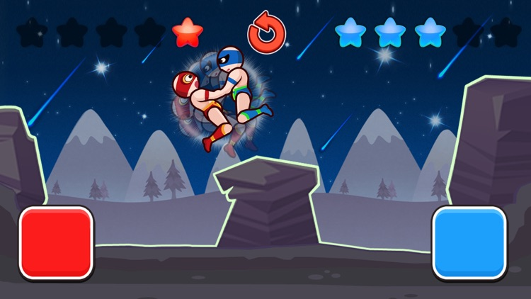 Wrestle Jump Man-Fight Club screenshot-3
