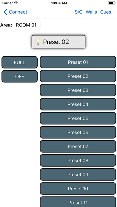 Lehigh DX3 Mobile Control Screenshot
