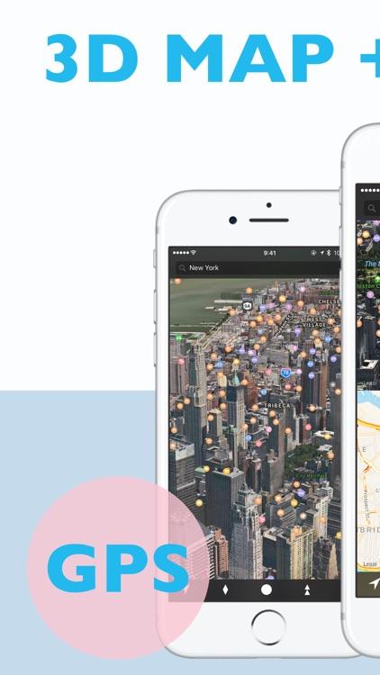 We Maps 04 - 3D Map + 2D Map screenshot-0