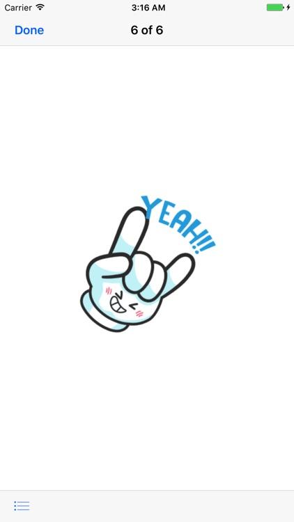 HandMoji Animated Hand Sticker