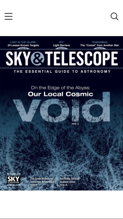 Sky & Telescope Magazine screenshot-0