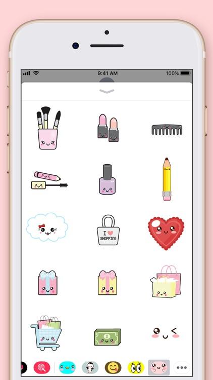 Cute Kawaii Stickers screenshot-6