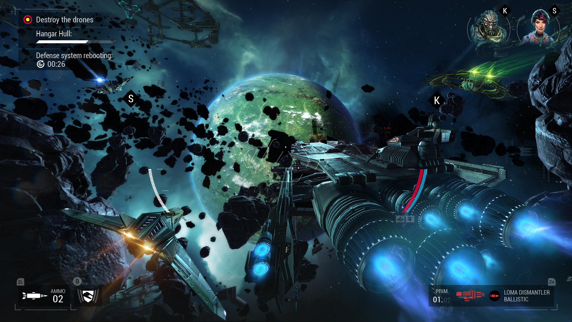 Manticore - Galaxy on Fire screenshot 6