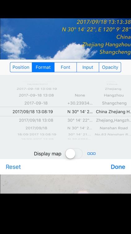 Timestamp Camera Basic screenshot-4