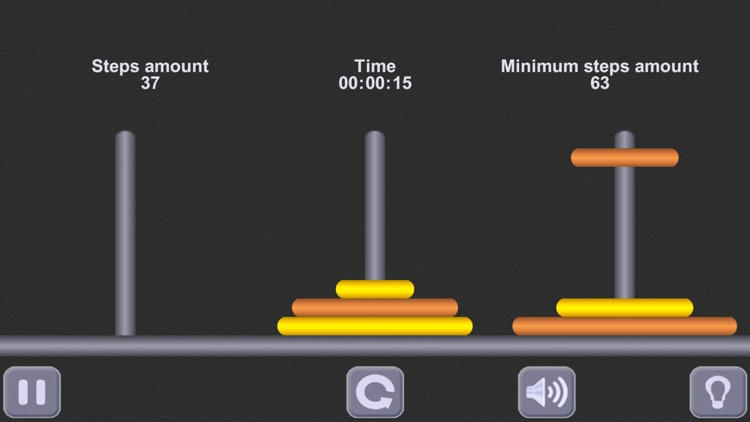 The Tower of Hanoi. (ad-free) screenshot-3