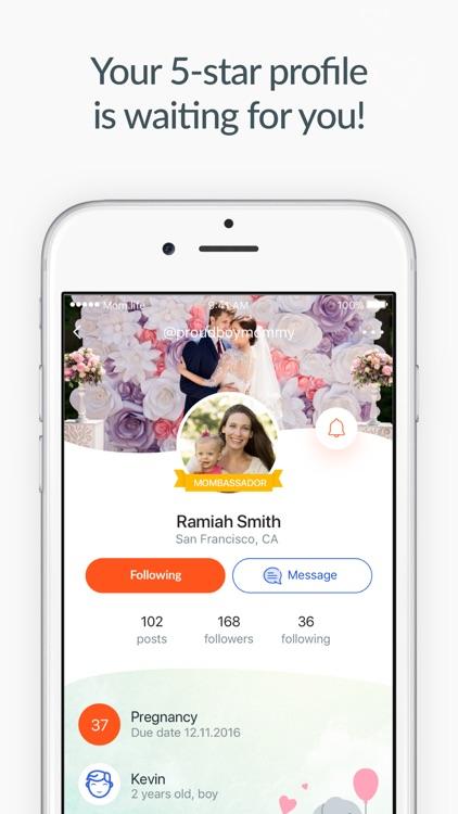 Pregnancy & baby app Mom.life screenshot-4