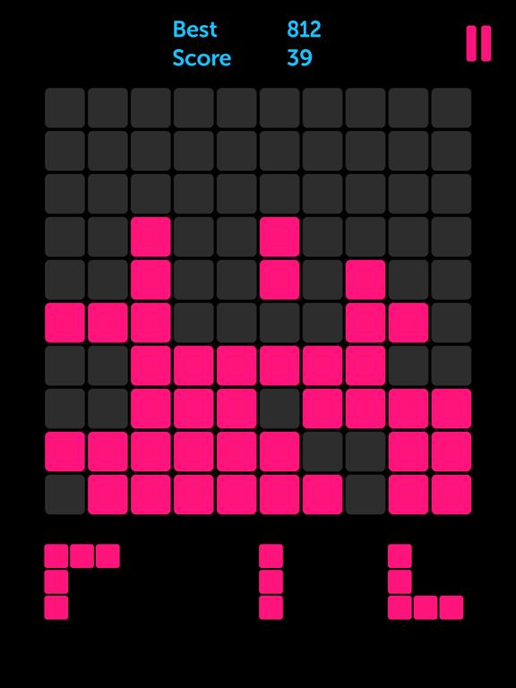 Pink Blocks: 1010 Puzzle Games screenshot 3