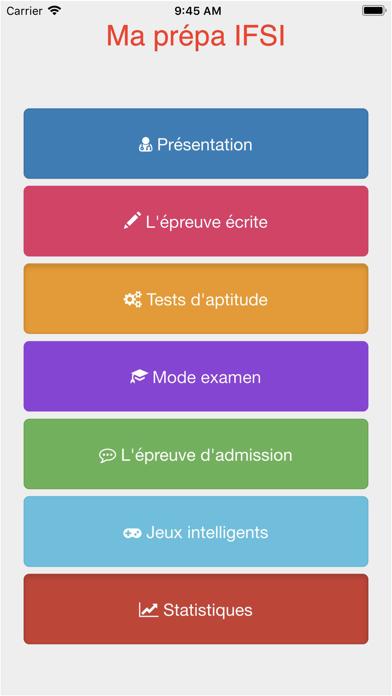 Screenshot #1 pour Prepa IFSI concours infirmier