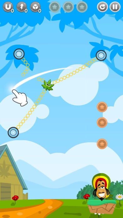 Cut Weed: Rope Hero screenshot one