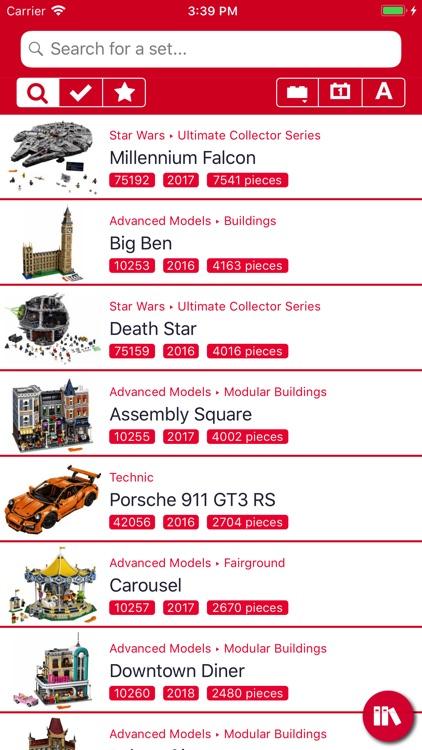 BrickSearch for LEGO Sets screenshot-0
