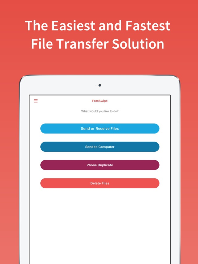 FotoSwipe: File Phone Transfer Screenshot