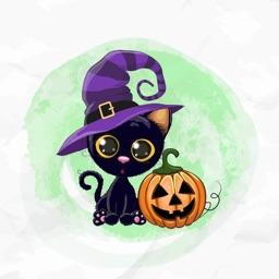 Watercolor Halloween Pack