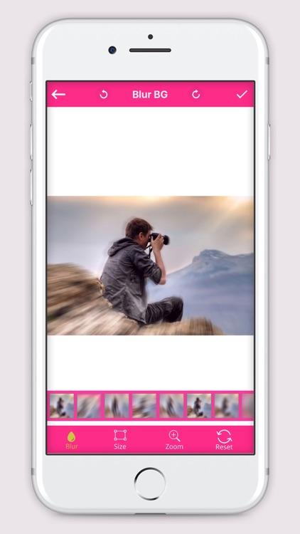 Censor Blur Photo  Effect  - DSLR