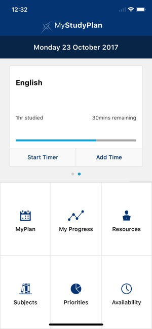 sqa my study plan on the app store 5 day study plan iphone screenshots