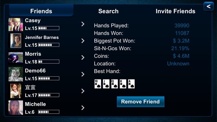 Texas Holdem Poker screenshot-4