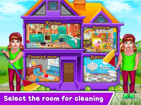 Baby Girl Home Cleaning screenshot 7